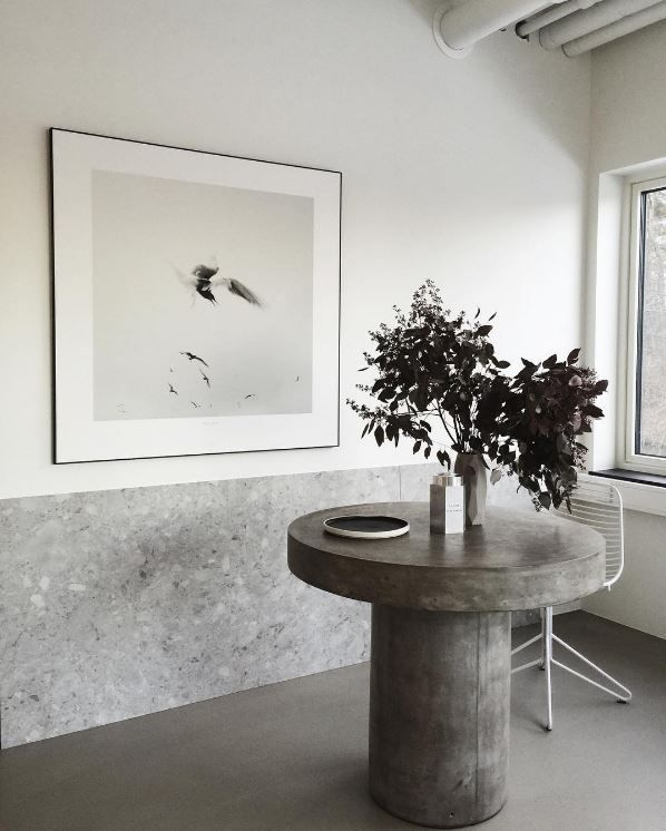 Who Needs A Grand Formal Dining Room When You Can Have A Minimalist Room? If