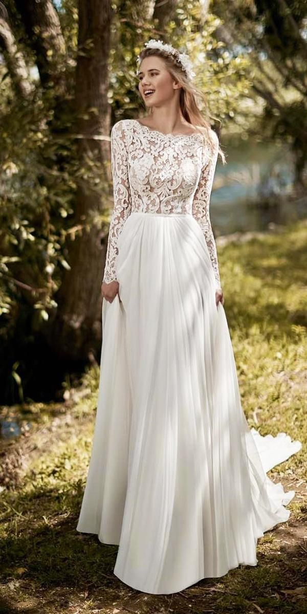 30 Disney Wedding Dresses For Fairy Bridal Look Wedding Forward Disney Wedding Dresses New Bridal Dresses Wedding Dress Long Sleeve