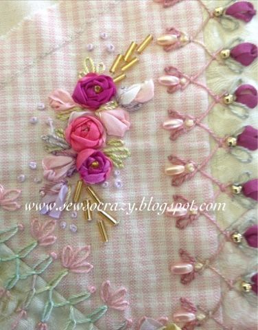 Beautiful bead and embroidery work.  Great blog for eye candy.  Sew So Crazy!©