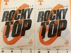 2 Tennessee vs. LSU Football Tickets - Front Row!