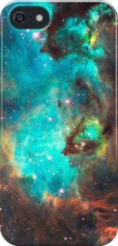 Green Galaxy iPhone Case - Available Here: http://www.redbubble.com/people/rapplatt/works/8678211-green-galaxy?p=iphone-case&ref=artist_shop_grid