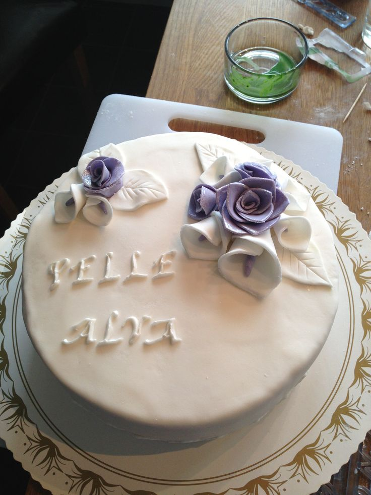 Pappa och dotter-tårta