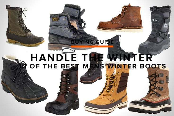 10 OF THE BEST MENS WINTER BOOTS