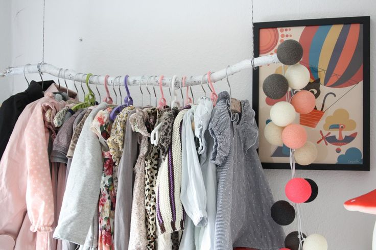 Kids room - Branch clothes rack - by.bak