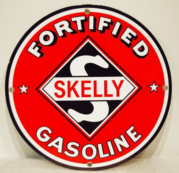 Vintage amoco signo de gas