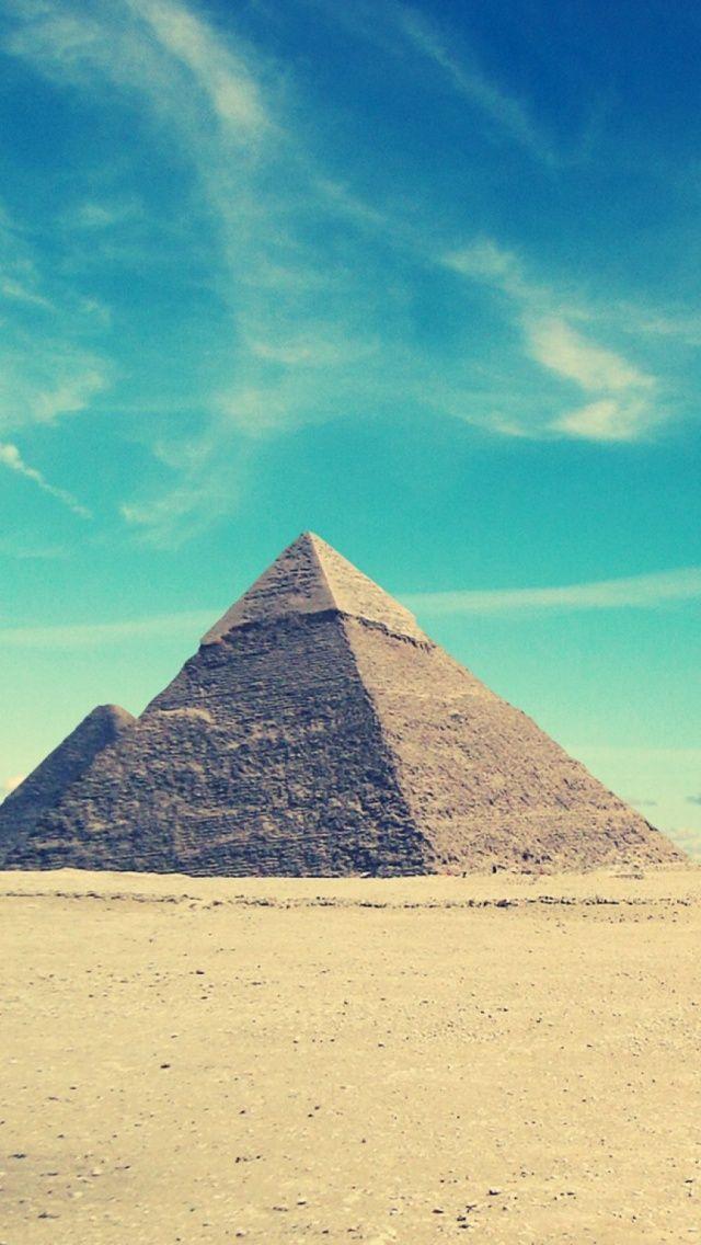 Egyptian Pyramids Cool iOS7 iPhone 5 Wallpaper.jpg 640×1.136 pixels