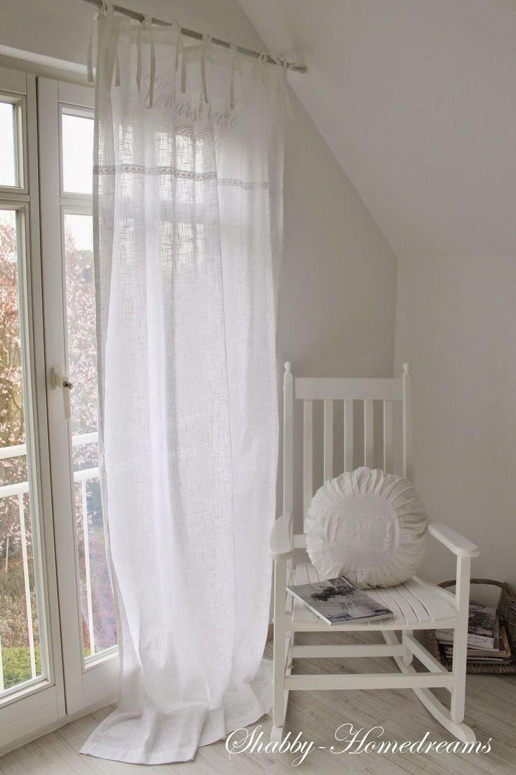 99 les meilleures images concernant fen tre rideau sur pinterest ana rosa traitements pour - Rideau campagnard ...