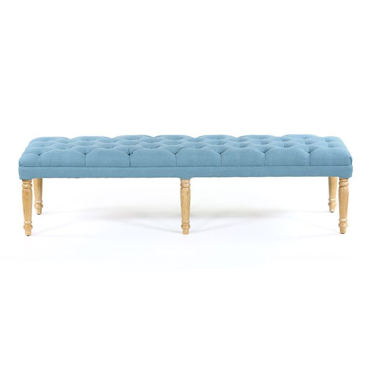 If you like French provincial style you will love our Juliet Dressing Bench in Teal, it perfectly complements traditional and transitional homes. This timele...
