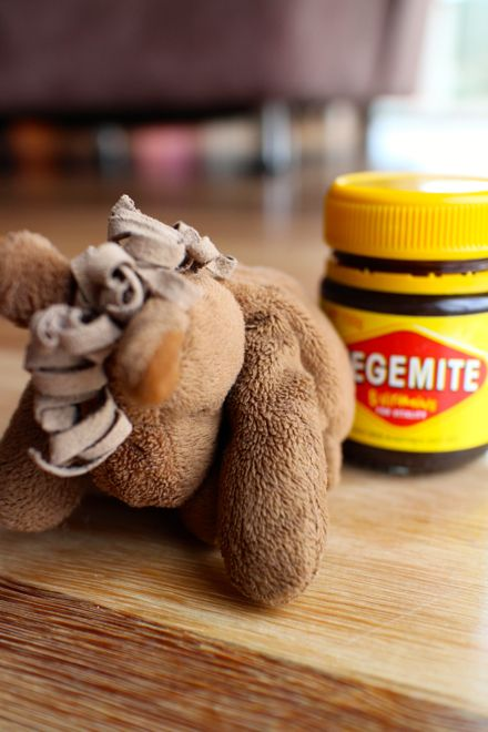 What's the weirdest thing you've had to try to eat while on family holidays? Horse? Fermented shark? Or just that really salty stuff Aussies love called Vegemite? www.suitcasesandstrollers.com