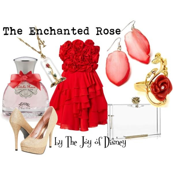 I found 'The Enchanted Rose -- Beauty and the Beast' on Wish, check it out!