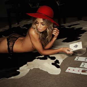 Nadia Bartel wears Ace of Something