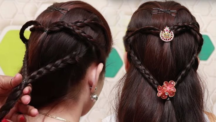 Best Easy Hairstyle Video Ideas On Pinterest Bow Buns Hair - Hairstyle easy video