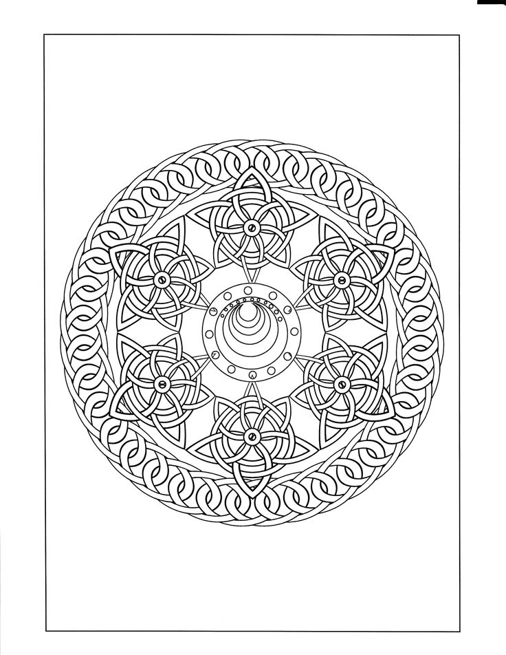 the 48 best celtic mandala coloring pages images on pinterest