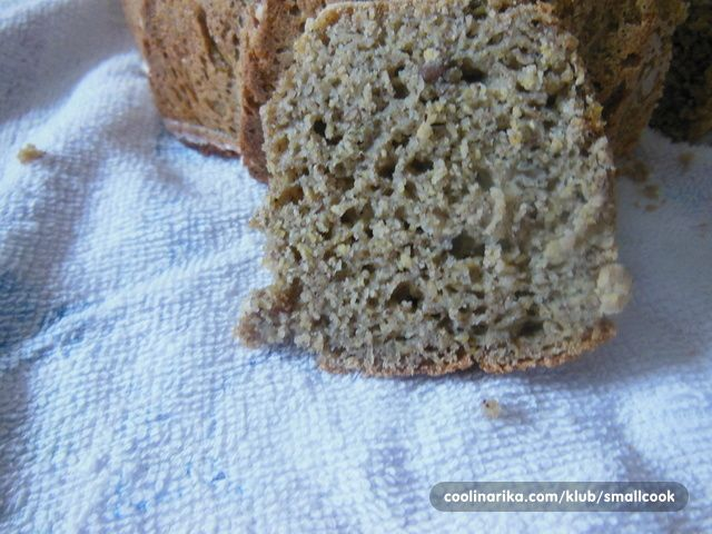 Super hleb bez belog brasana.Za one koji vole kukuruzno i heljdino brasno a i koji zele da se hrane zdravije. Meni se ovaj hleb posebno svideo.