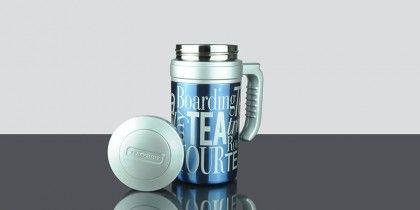 Travel Tea Metallic Blue