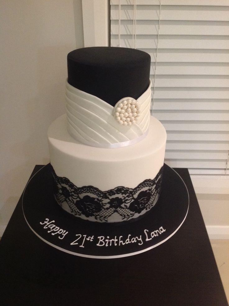 Cake Decorations 21st Birthday : 21 best 21st Birthday Cake Inspiration images on Pinterest ...