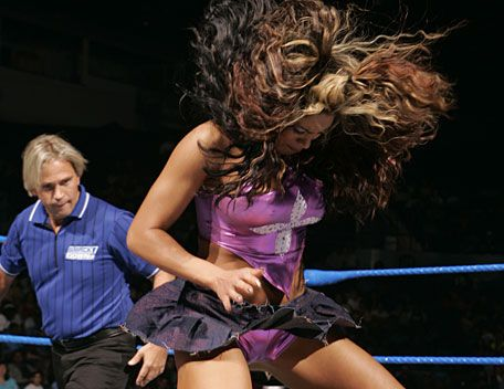 Interesting. wwe diva melina perez wardrobe malfunction something is
