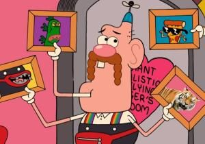 "Cartoon Network's new ""Uncle Grandpa"" aims to create that most elusive of all animated characters, a ""good grownup."""