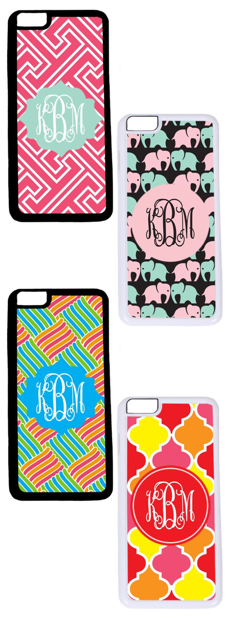 Create your own cell phone case on Marleylilly.com! These personalized iPhone Cases come in a variety of patterns, including seersucker, and not only look great, but you can choose between a plastic case and a slightly more protective rubber case. #iPhone #creative #design #electronic #personalize