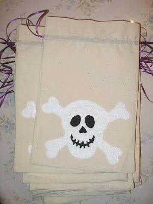 How to make a pirate party loot bag