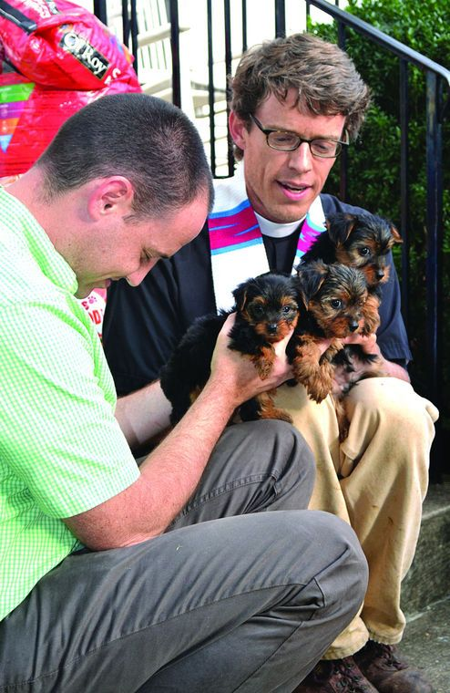 St. Paul's, Animal Aid host Blessing of the Animals ... This was a litter of my yorkies who made the local news paper! #adcoleman #smallfurbabies