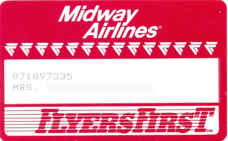 Midway Airlines-FlyersFirst (Airlines, United States of America) (Midway Airlines)