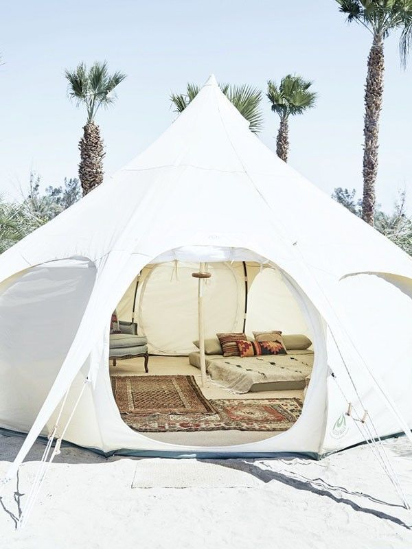 camping ombre tente