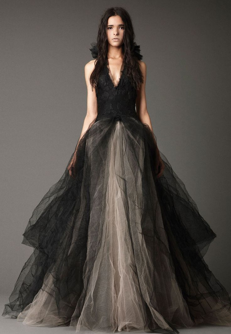 121 best The Bride Wore Black images on Pinterest | Evening gowns ...
