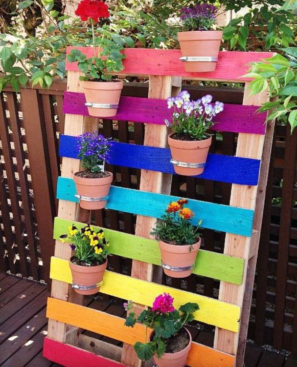 50 ideas for DIY garden decoration and creative garden design