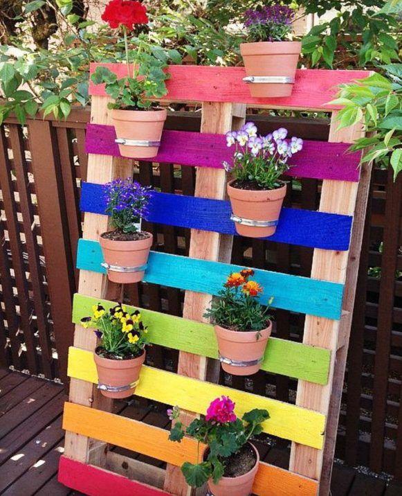 50-Ideen-für-DIY-Gartendeko-und-kreative-Gartengestaltung mit paletten