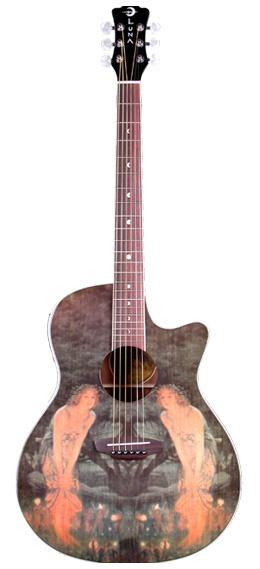 My beautiful Midsummer Night's Eve, Luna Guitar. An amazing gift.