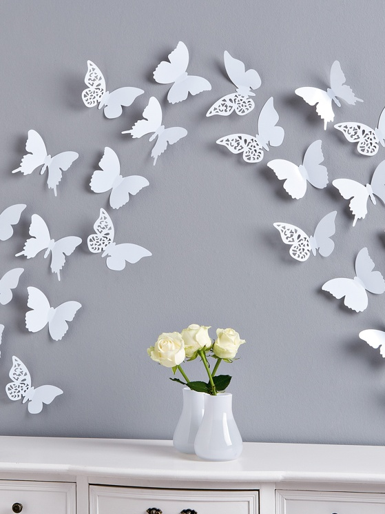 apring butterflies wall decals