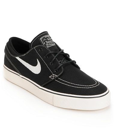 Nike SB Zoom Stefan Janoski Black & Sail Shoe at Zumiez : PDP