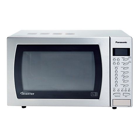 Buy Panasonic NN-ST479S Sensor Microwave Oven, Stainless Steel Online at johnlewis.com