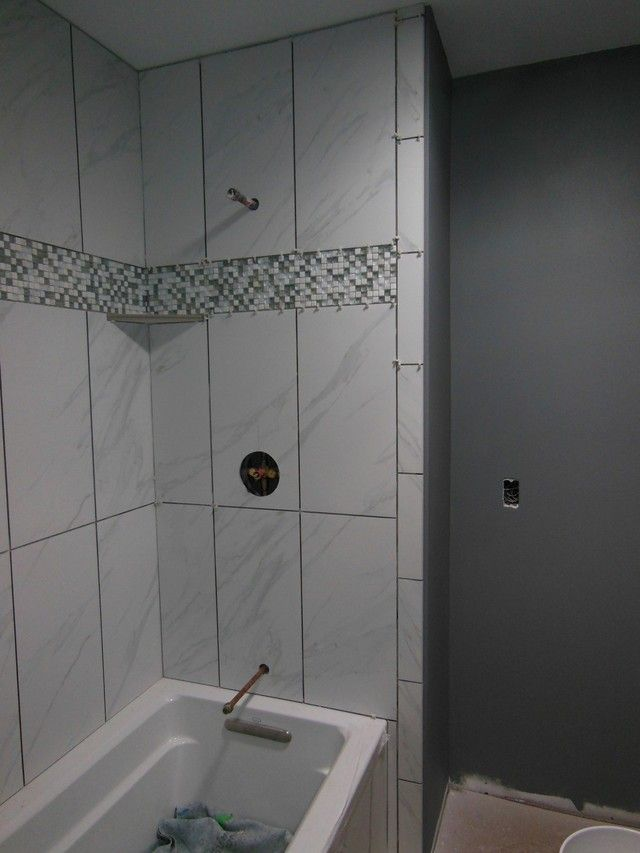 12 best 12x24 shower tile designs images on pinterest