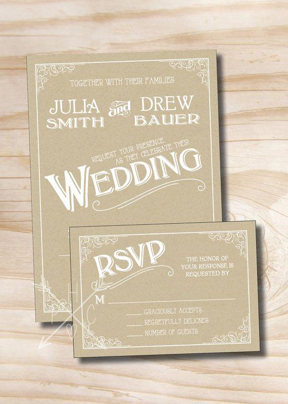 the 25+ best response cards ideas on pinterest | reading response, Wedding invitations