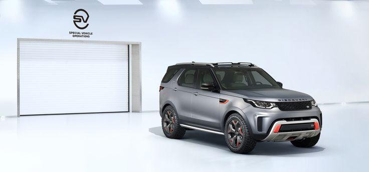 Foto de Land Rover Discovery SVX (15/16)