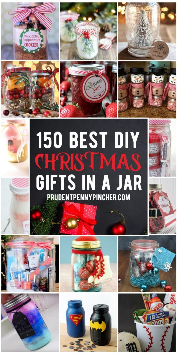 Best Coworker Christmas Gifts 2020 150 Best Christmas Gifts in a Jar in 2020 | Christmas gifts for