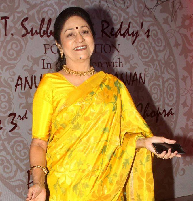 Aruna Irani : Photos: B-Town, South stars at the 3rd Yash Chopra Memorial Award
