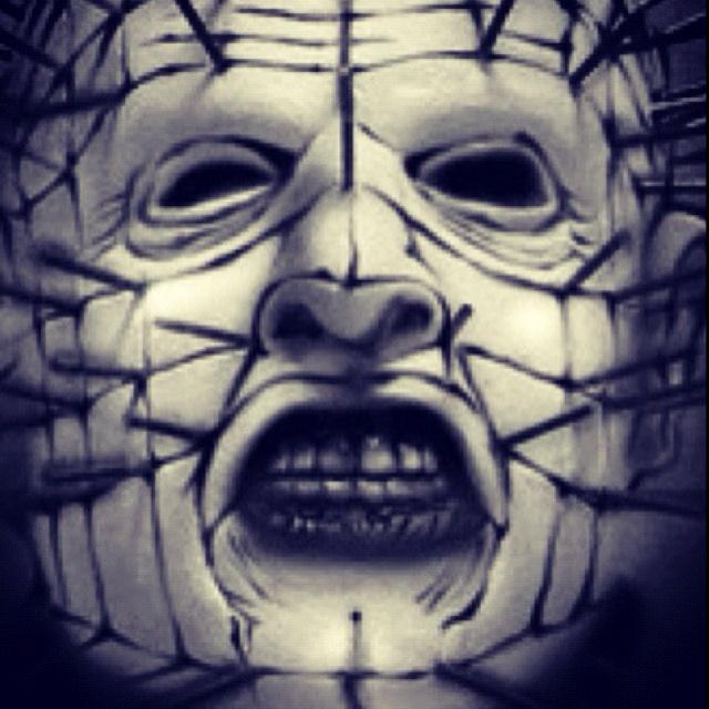 Mr. Pinhead #hellraiser #pinhead #scary #horror #movies