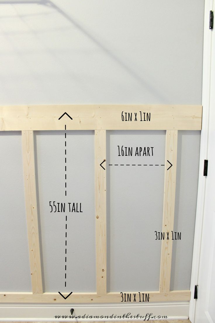 Laundry Room Board and Batten | A Diamond in the Stuff