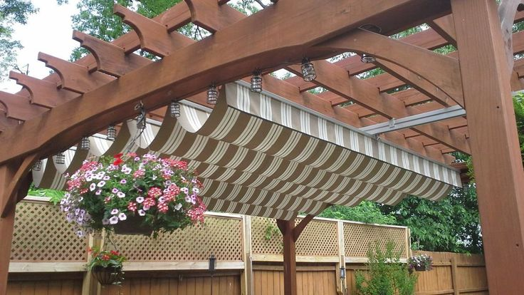 Roof options for patio and decks help shade your outdoor space.