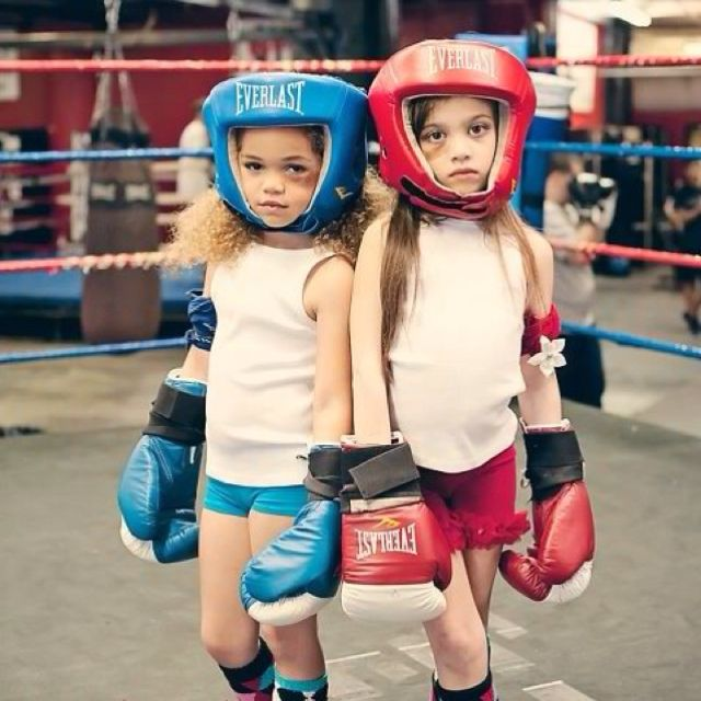 I should get my girls some boxing gloves and let them solve their own fights!!