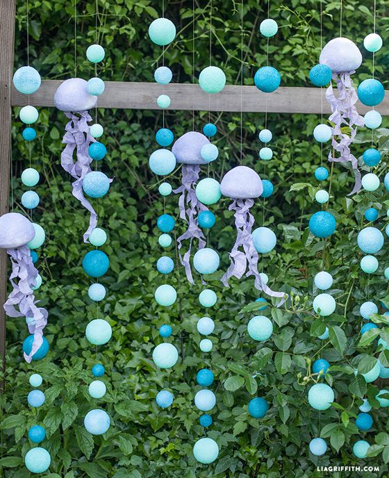 Ball_Backdrop/Decor (this is an under the sea theme, but I like for any occasion, minus the jellyfish)