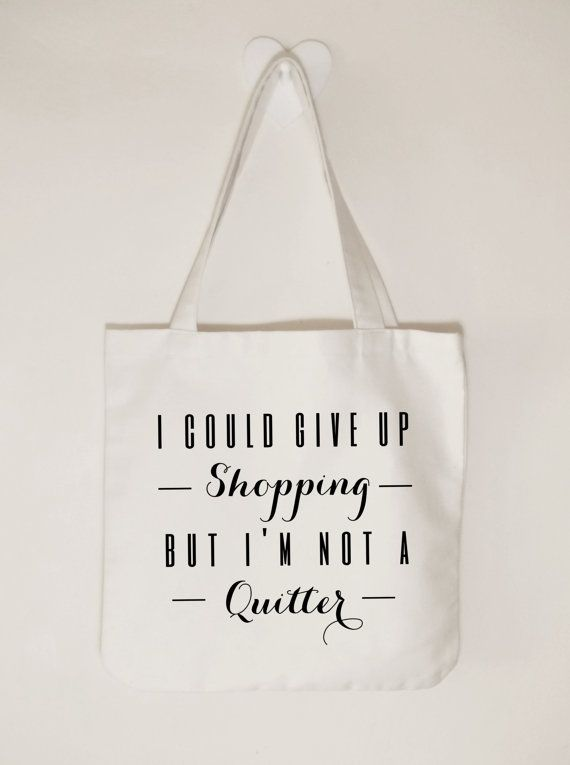 Cotton canvas tote bag Ladies tote bag I could by ToastStationery
