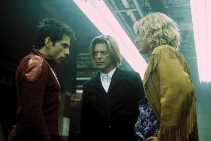 Ben Stiller, David Bowie & Owen Wilson in  Zoolander. BEST scene in the movie! It's a walk off!
