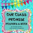 Classroom Promise poster set + Classroom Promise Booklets for students to make FREE