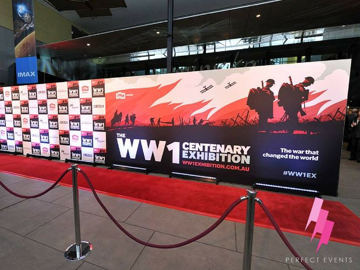 WW1 Exhibition Opening 2015, Perfect Events