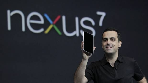 Hugo Barra en la presentación de la tablet Nexus 7 de Google