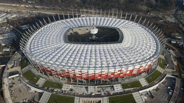 Estadio Nacional, Varsovia, Polonia